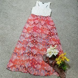 Maxi racerback dress
